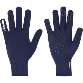 GripGrab Waterproof Thermo Strickhandschuhe navy blue